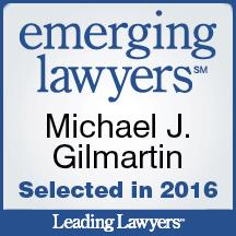 Emerging Lawyer 2016 - Gilmartin Legal - La Grange Lawyer