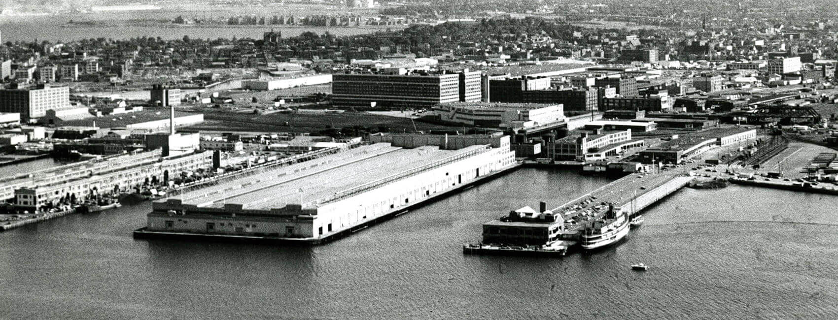 PIER 4 History | OLD Boston Seaport | Boston PIER