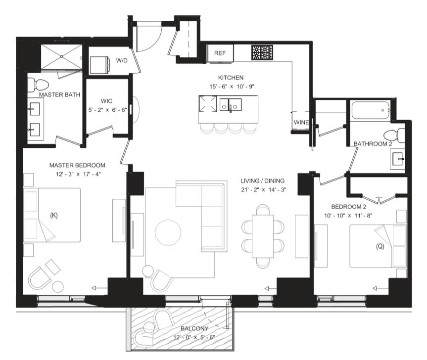 Floor Plan 7E