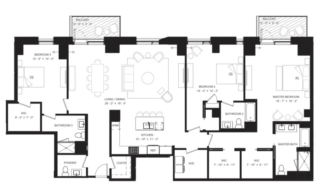 Floor Plan 8B